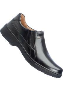 Sapato Pegada Comfort Anilina Soft Social Masculino - Masculino