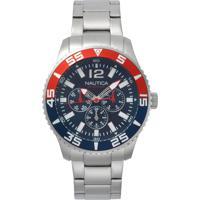 e0c8db821a3 Relógio Nautica Masculino Aço - Napwhc002 Vivara