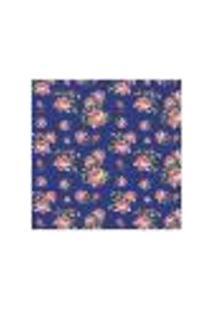 Adesivo De Parede Flor Joana Azul Escuro