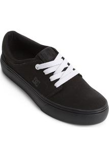 Tênis Dc Shoes Preto feminino  faa07e42ae17b