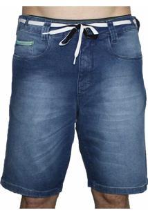 Bermuda Jeans Hocks Forum Azul
