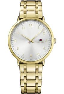 Relógio Tommy Hilfiger Masculino Aço Dourado - 1791337