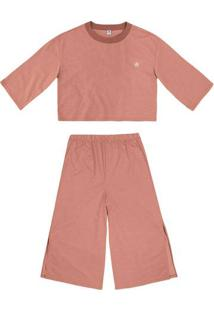 Pijama Feminino Pantacourt