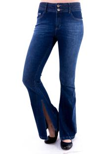 105b84e2aa Dafiti. Calça Flare Gup s Jeans ...