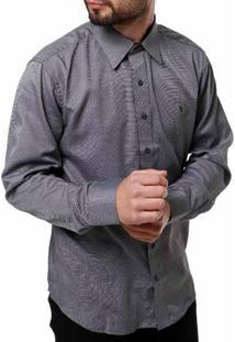 Camisa Manga Longa Masculina Bivik Preto