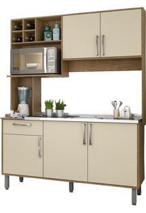 Cozinha Compacta Jaeli Luma, Siena Off White