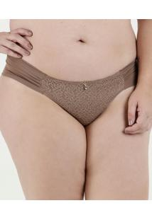 Calcinha Feminina Tanga Renda Plus Size Dilady
