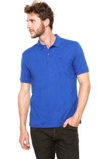 Camisa Polo Calvin Klein Jeans Slim Azul