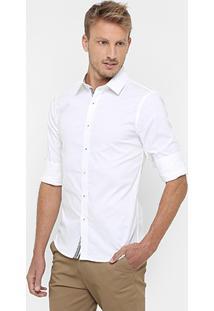Camisa Sergio K. Regular Fit Vista Listras - Masculino