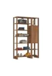 Guarda Roupa Closet 01 Porta 09 Nichos Yes Ey103.107 Montana Nova Mobile