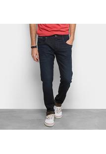 Calça Jeans Skinny Forum Igor Masculina - Masculino-Azul Escuro