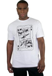 Camiseta Bleed American Death Card Branco