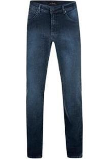 Calça Jeans Pierre Cardin Boulevard Masculina - Masculino-Marinho