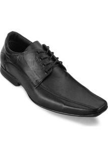 Sapato Masculino Focal Flex 8204 - Masculino-Preto