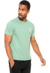 Camiseta Hering Âncora Verde