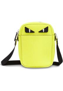 Fendi Bolsa Transversal Pequena - Amarelo