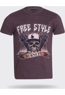 Camiseta Burnett - Masculino