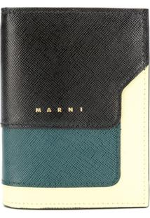 Marni Carteira Color Block - Preto