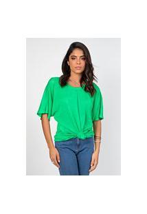 Blusa Myah Lene Verde Claro