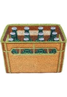 Capacho Engradado De Garrafas De Cerveja Retrô