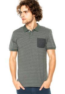 Camisa Polo Volcom Blurt Verde