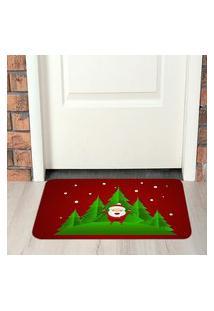 Tapete De Natal Para Porta Papai Noel Único