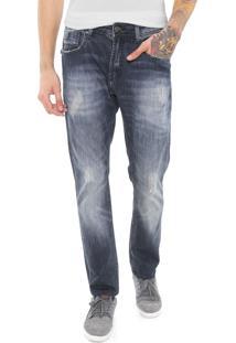 Calça Jeans Mcd Slim Pure Azul
