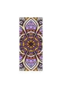 Adesivo Decorativo De Porta - Mandala - 289Cnpt Auto Colante