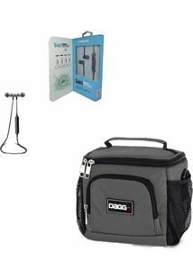 Kit Com Bolsa Térmica Fitness - Dagg - Unissex