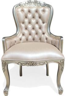 Cadeira Vitoriana Capitonê Madeira Maciça Design De Luxo Peça Artesanal