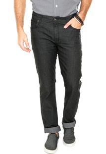 Calça Jeans Timberland Reta Comfort Preta