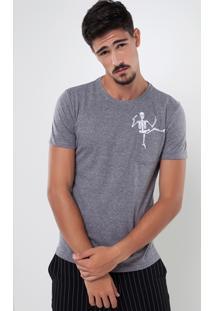 Camiseta Caveira Drink