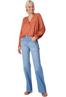Calça Jeans Flare Vinco