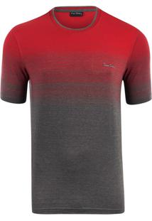 Camiseta Listradora Red Print