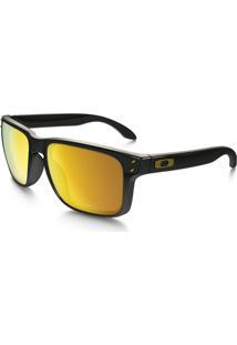 Óculos Oakley Holbrook - Masculino-Dourado