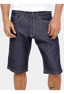 Bermuda Jeans Fatal Índigo Slim Masculina - Masculino
