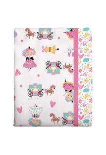 Cobertor Estampado - Rosa 1 Bambi