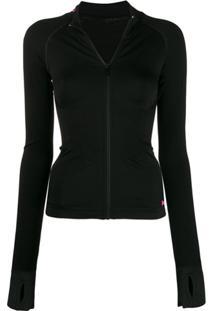 Karl Lagerfeld Zip-Up Jacket - Preto