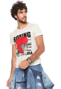 Camiseta Sergio K Boxing Monkey Cinza