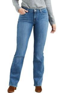 Calça Jeans Levis Curvy Bootcut - 27X32