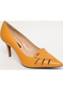 Scarpin Em Couro - Amarelo- Salto: 8Cmjorge Bischoff