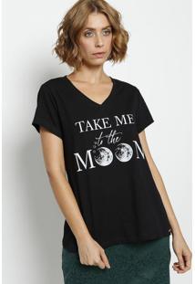 """Blusa """"Moon"""" - Preta & BrancaãŠNfase"""
