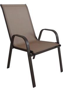 Cadeira De Jardim Rio Marrom