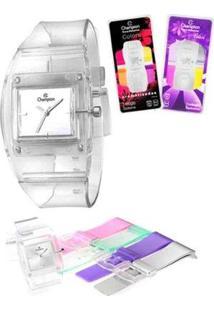 Relógio Feminino Champion Analógico Cp28220S - Unissex