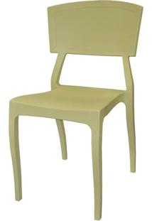 Cadeira Hitz Polipropileno Sem Braco Cor Fendi - 23004