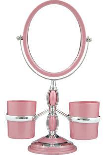 Espelho De Bancada Com Suportes Laterais - Espelhado & Rjacki Design