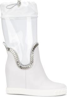 Casadei Galocha 'Glass' - Branco