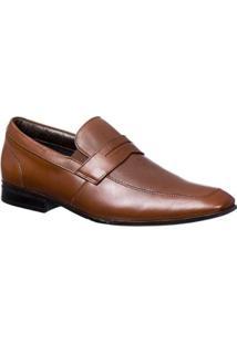 Sapato Casual Couro Doctor Pé Masculino - Masculino-Marrom