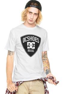 Camiseta Dc Shoes Brasil Branca
