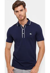 Camisa Polo Lacoste Slim Fit Masculina - Masculino